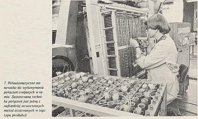 Komputery Odra były w całości montowane ręcznie (z dzisiejszego punktu widzenia),, a półautomatycznie z ówczesnego im punktu widzenia.