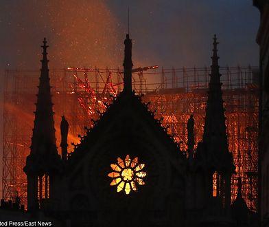 Pożar Notre Dame. Historyk sztuki: widok jest równie apokaliptyczny jak World Trade Centre
