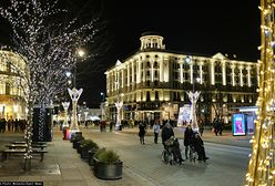 Świąteczna iluminacja w Warszawie po raz ostatni do zobaczenia w ten weekend