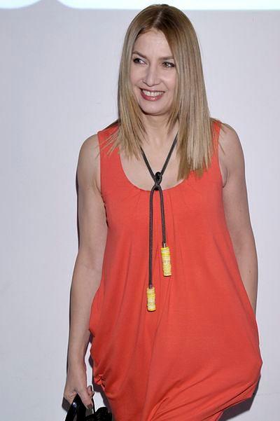 Grażyna Wolszczak - w blondzie jej do twarzy
