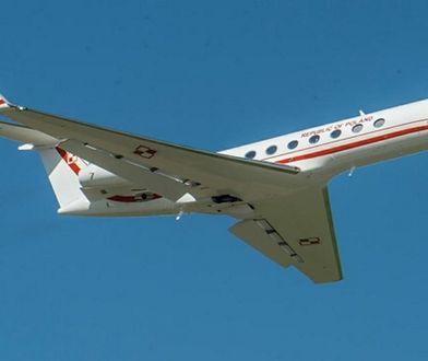 Pierwszy nowy samolot dla VIP-ów w Polsce. Feta na przywitanie