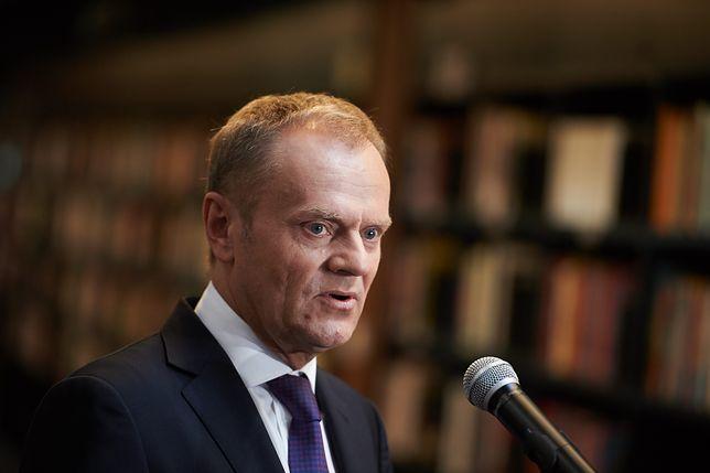 Donald Tusk zabrał głos w sprawie kryzysu z Izraelem