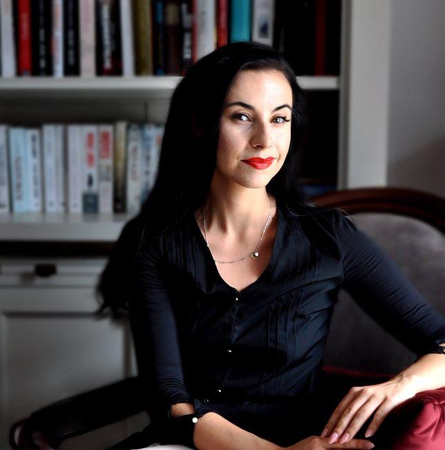 """Nina Reichter wydała wcześniej trzytomową powieść """"Ostatnia spowiedź""""."""