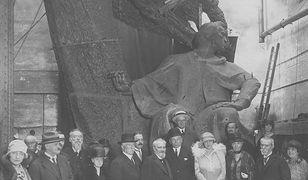 Pomnik Chopina dla Warszawy - zdjęcia z lat 20. i 30. XX wieku