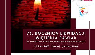 Warszawa. Obchody 76. rocznicy likwidacji więzienia Pawiak
