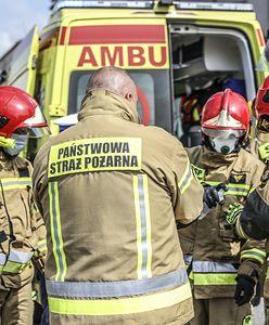 """Protest ratowników. Strażacy: """"Możemy tylko bandażować, a reszta to robota pogotowia"""""""