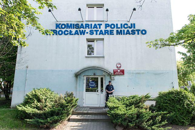 Komisariat, w którym zmarł Igor Stachowiak