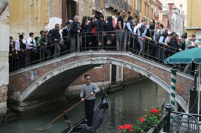 W Wenecji nie chcą więcej turystów. A ich liczba z roku na rok rośnie