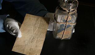 Sopot. W zabytkowej kapliczce znaleziono list w butelce