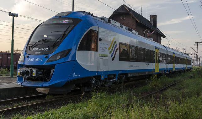 Pociąg Kolei Zachodniopomorskich.