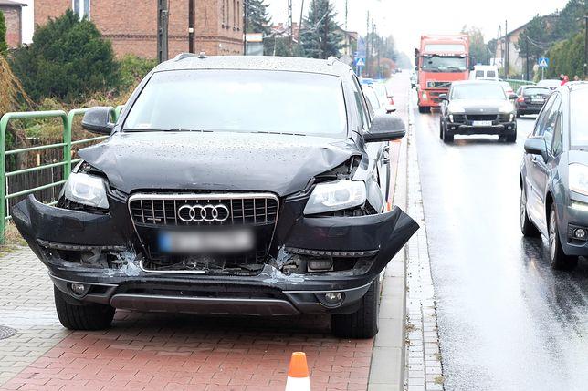 Znów rządowe auto brało udział w stłuczce