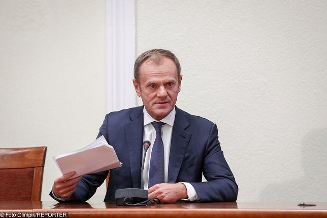 Były premier Donald Tusk nic nie wiedział o tajnym opracowaniu ABW na temat gdańskiego układu