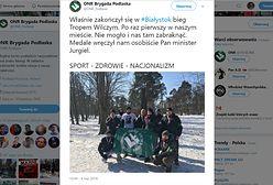 ONR z Białegostoku chwali się w sieci: Medale wręczał nam sam minister Jurgiel