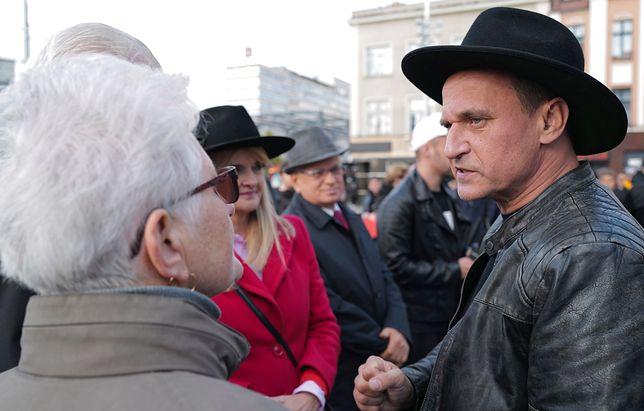 Wybory parlamentarne 2019. Paweł Kukiz na spotkaniu wyborczym w Opolu