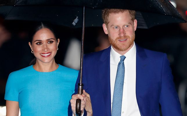 Książę Harry i Meghan Markle opuścili szeregi rodziny królewskiej