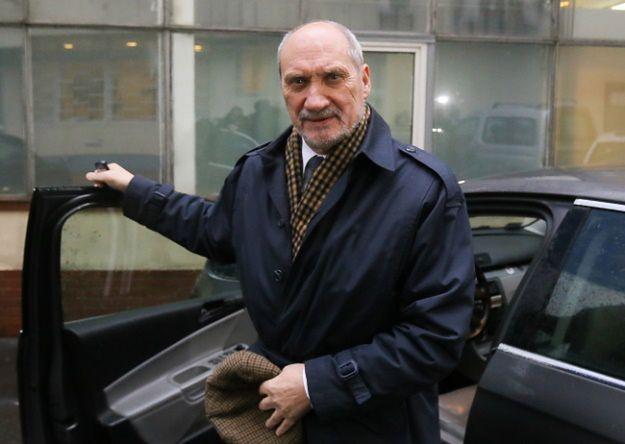 Wiceprezes PiS Antoni Macierewicz