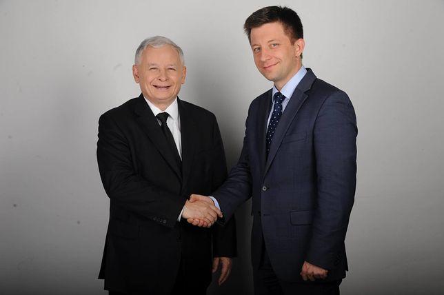 Michał Dworczyk - wiceszef MON, nowy szef gabinetu premiera.