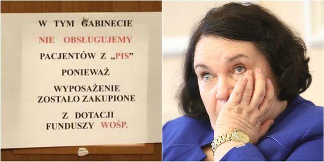 Posłanka PiS oburzona postawą lekarza. Nie chciał obsługiwać przeciwników WOŚP