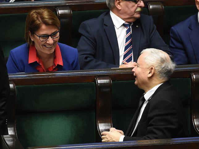 Stan zdrowia Jarosława Kaczyńskiego. Beata Mazurek zabrała głos