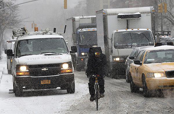Atak zimy na Wschodnim Wybrzeżu USA
