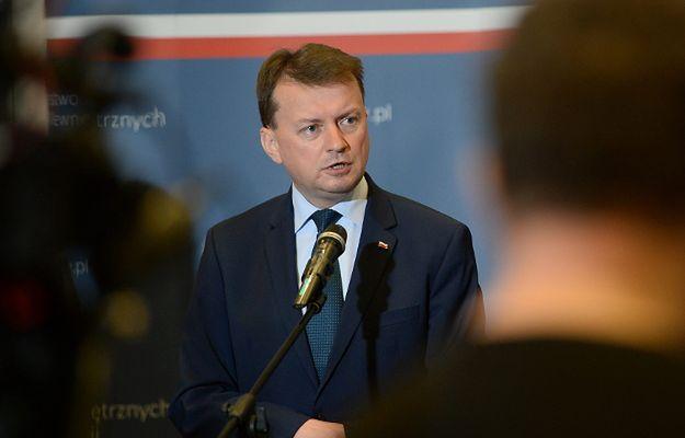 Minister Mariusz Błaszczak w USA: wzmocnić rolę Polonii