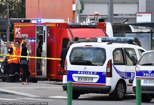Francja: atak w Villeurbanne: 1 osoba nie żyje, 9 jest rannych
