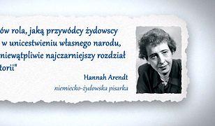 """Poprawiony cytat Arendt w """"Wiadomościach"""""""
