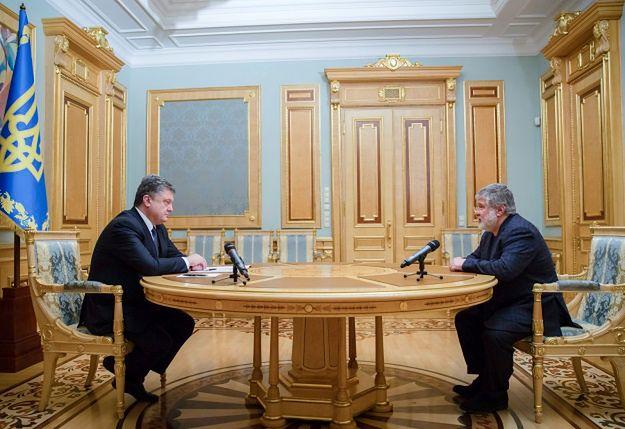 Poroszenko kontra Kołomojski. Wojna oligarchów na Ukrainie