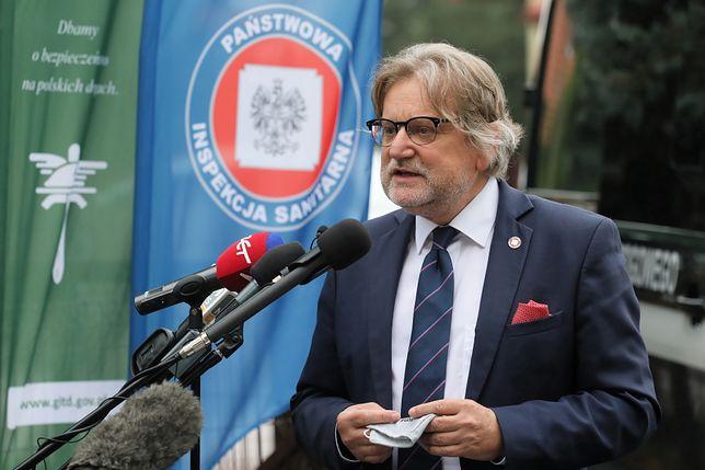 Koronawirus w Polsce. Jarosław Pinkas: o obostrzeniach na weselach