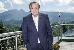 Olaf Lubaszenko na zdjęciu z ukochaną. Rzadko pokazują się razem