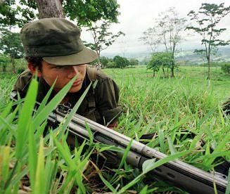 Koniec wojny domowej w Kolumbii