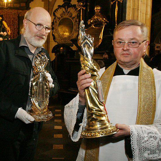 Relikwiarze św. Stanisława na Wawelu
