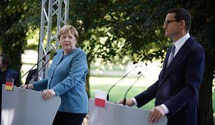 Ostatnia wizyta Merkel w Polsce. Kanclerz odniosła się do praworządności