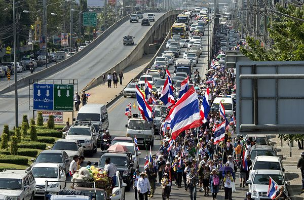 Demonstracja w Bangkoku