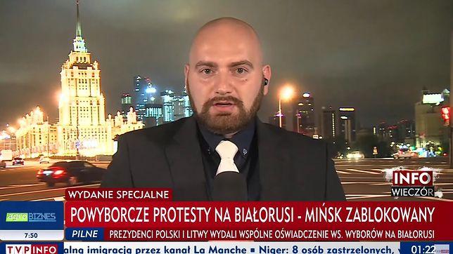 Tomasz Jędruchów był korespondentem TVP w Rosji od 2016 r.
