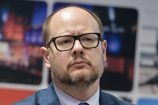 Konferencja prasowa z udziałem Pawła Adamowicza