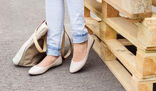 Skórzane buty ze skóry na płaskim obcasie. Perfekcyjna wygoda idealna do pracy