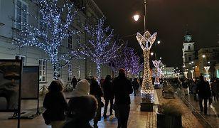 Warszawa. Świąteczna iluminacja 2019 otwarta