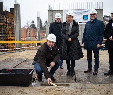Warszawa. Inauguracja rozbudowy Stołecznego Centrum Opiekuńczo-Leczniczego przy ul. Mehoffera w stolicy