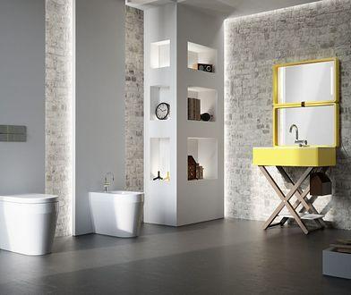 Zaskakujący kolor w łazience