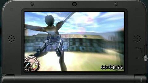 Przeznaczony na 3DS-a Attack on Titan na ostatniej prostej