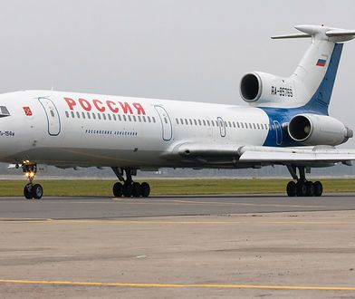 Rosyjski samolot Tu-154