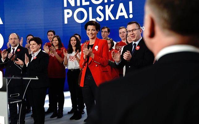 Wybory prezydenckie 2020. Szefowa kampanii Andrzeja Dudy Jolanta Turczynowicz-Kieryłło.