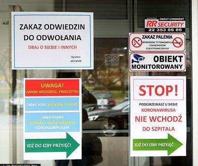 Koronawirus w Polsce. Rodziny nie mogą odwiedzać umierających krewnych