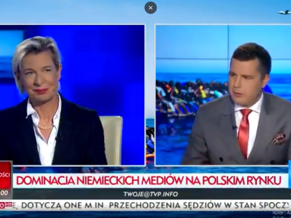 Cejrowski mógłby się od niej uczyć. TVP Info zaprosiła publicystkę oskarżaną o szerzenie rosyjskiej propagandy