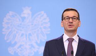Premier Mateusz Morawiecki po pierwszym posiedzeniu nowego rządu