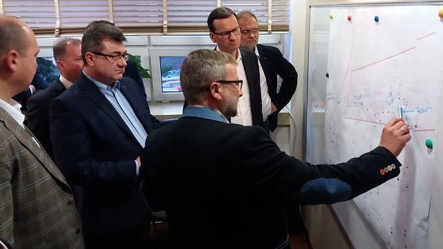 Premier uczestniczył w odprawie sztabu kryzysowego w Kopalni Węgla Kamiennego w Jastrzębiu-Zdroju
