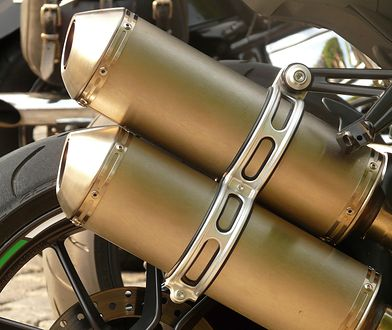 Motocyklowe wydechy potrafią być bardzo głośne
