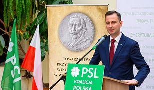 Lider PSL Władysław Kosiniak-Kamysz zadeklarował gotowość startu w wyborach prezydenckich