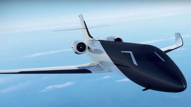 Tak może wyglądać samolot przyszłości